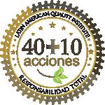 40 + 10 Ações em Qualidade Latin American Quality Institute
