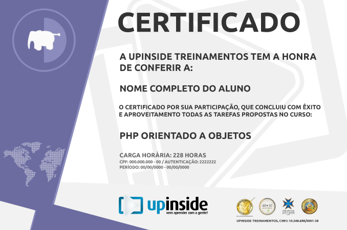 Certificado UpInside
