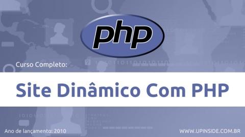 Curso Site Dinâmico Com PHP (Completo e Gratuito)