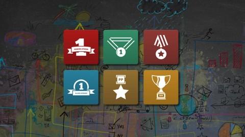 Novo sistema de troféus. Suas conquistas reconhecidas em seu perfil profissional!