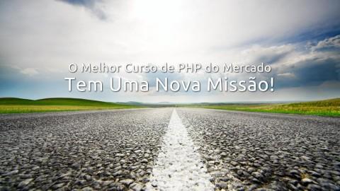 Confira a nova missão do melhor curso de PHP Orientado a Objetos do mercado!