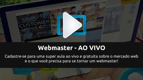 O profissional webmaster. Uma nova série para impulsionar você na web!