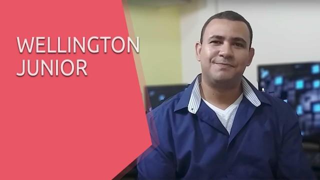 Veja o que o Wellington Junior tem a dizer sobre a UpInside - Depoimento