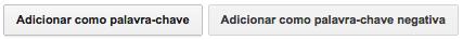 O que significa correspondência ampla, de frase, exata e negativa no Google AdWords?