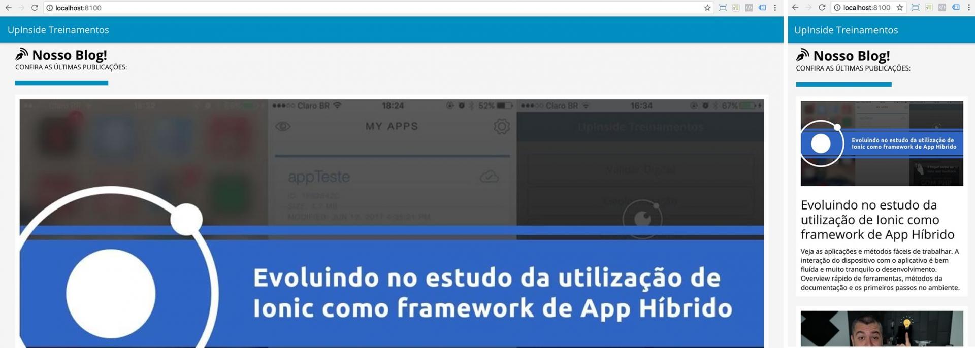 Passo a passo para consumir API utilizando o jQuery dentro do Ionic FrameWork