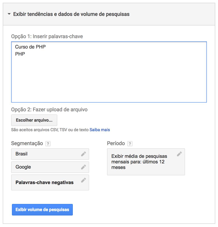 Como encontrar as melhores palavras-chave para obter grandes resultados no Google AdWords