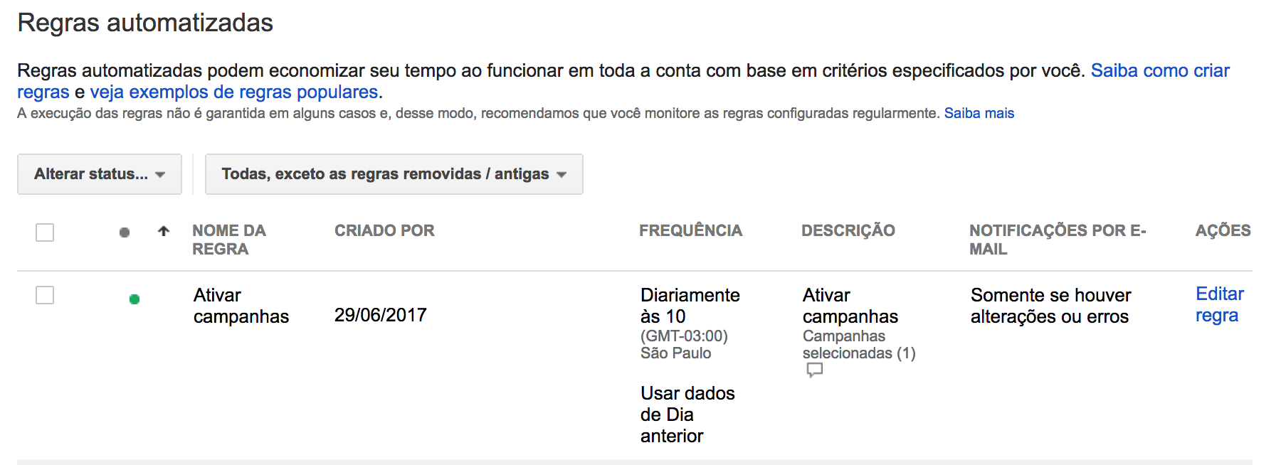 Como automatizar o horário de suas campanhas no Google AdWords