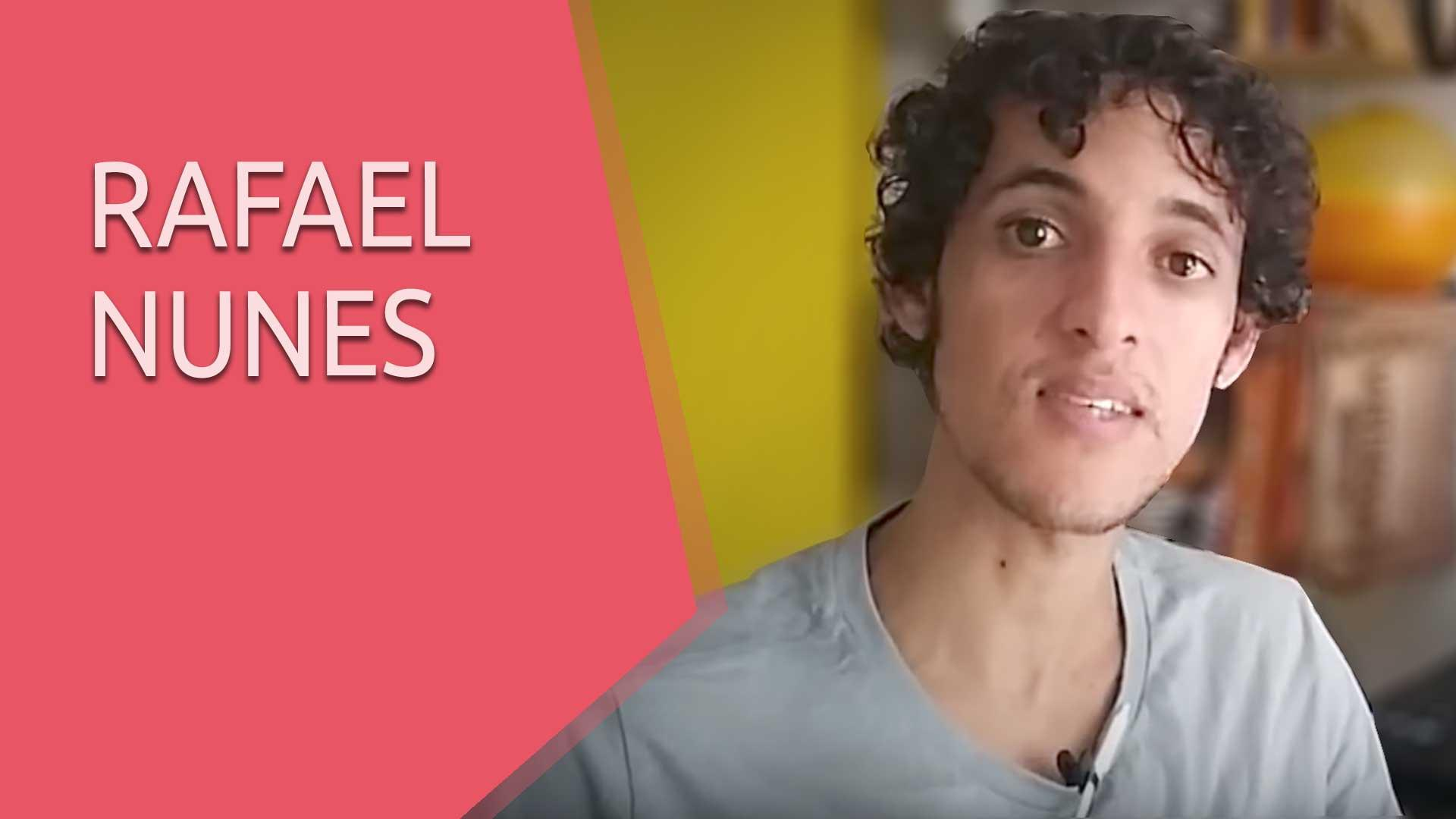 Confira o que o Rafael Nunes tem a dizer sobre a Upinside - Depoimento
