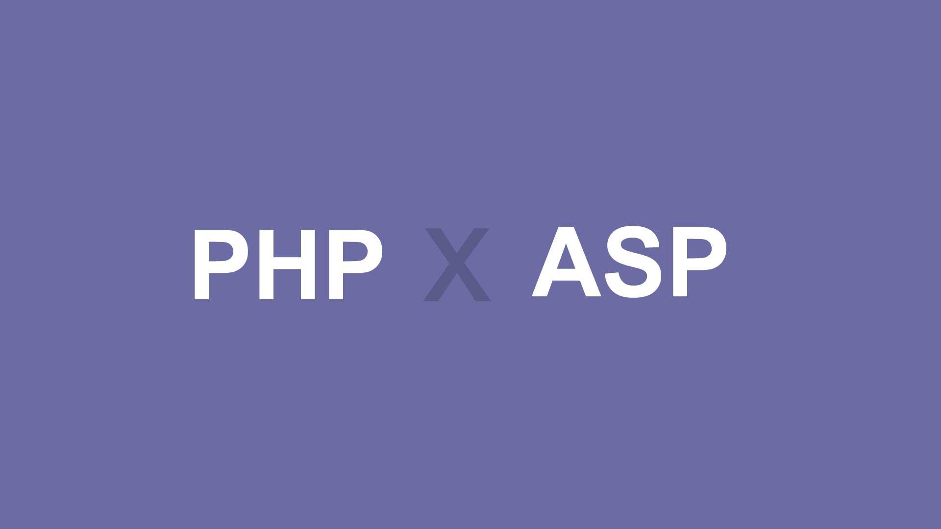 Conheça alguns comparativos entre PHP e ASP, os dois gigantes da programação.