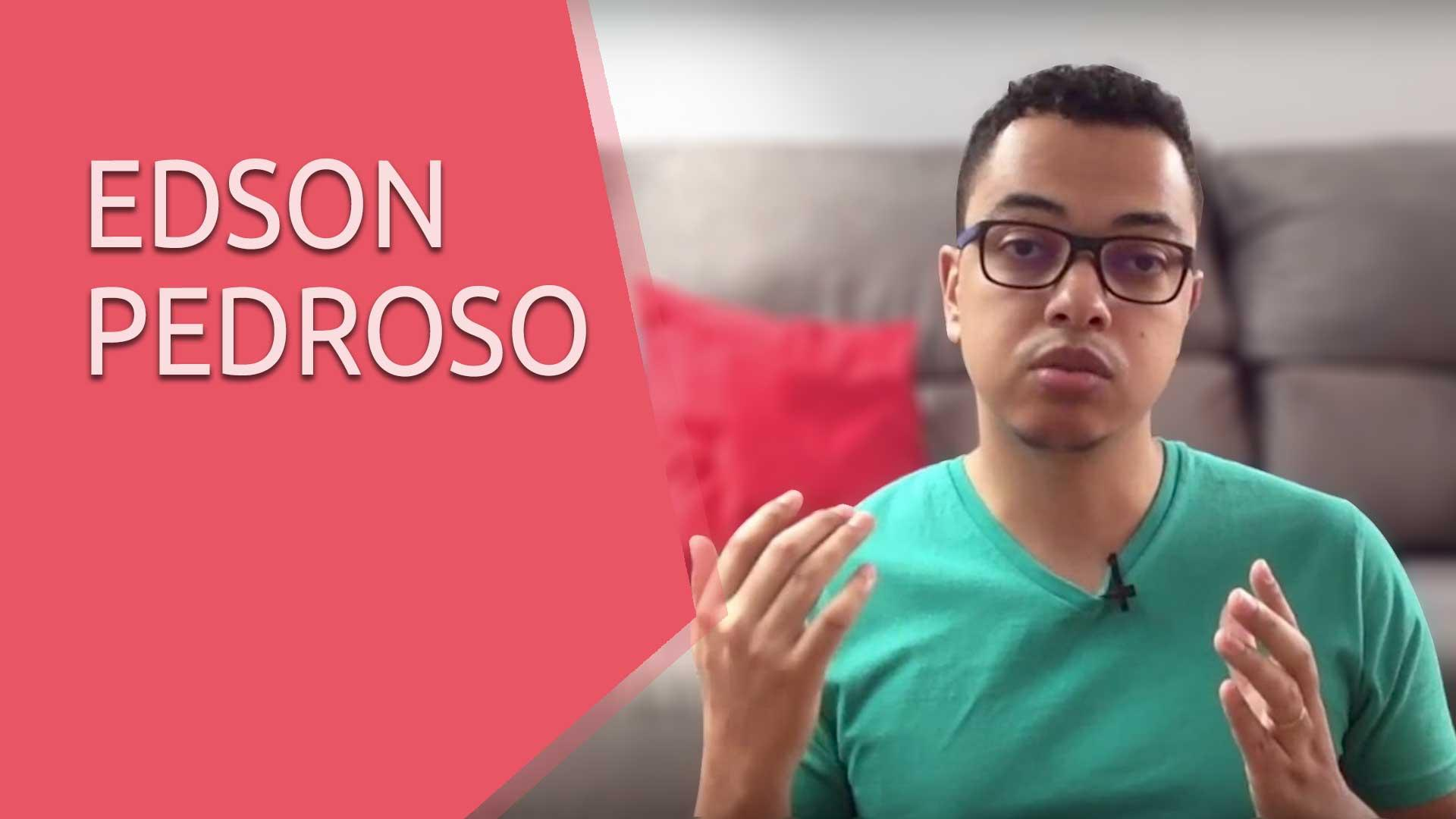 Veja o que o Edson Pedroso tem a dizer sobre a UpInside - Depoimento